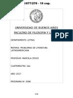 05077270 Programa 2017 - Pro. Lit. Lat. a (Croce)