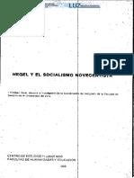 17810-18642-1-Pb.hegel y El Socialismo Novecentista