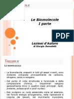 Presentazione Biomolecole I Parte