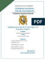 Informe de Implementación de Estrategias 90