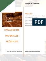 Catalogo Acustica