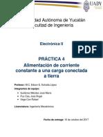 Práctica 4 Electrónica 2