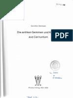 Dembski_Die Antiken Gemmen Und Kameen Aus Carnuntum.