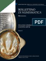 Mastrocinque, A. 2007. Bollettino Di Numismatica. Sylloge