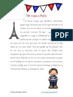 Actividades Dislexia Cuento Con Pseudopalabras Palabras Inventadas Mi Viaje a Paris