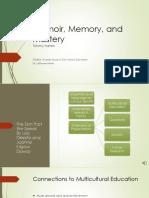 memoir memory and mastery