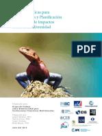 Buenas Practicas Para La Evaluacion y Planificacion Del Manejo de Impactos Sobre La Biodiversidad