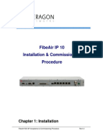 Ceragon IP 10 Installation and Commissioning Procedure for Vender (2)