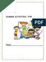 Cuaderno Vacaciones 3º Ep
