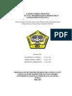 Laporan Kerja Praktek (SISTEM INFORMASI PENGOLAHAN SURAT MASUK SURAT KELUAR PADA BIRO TATA PEMERINTAHAN PROVINSI PAPUA)