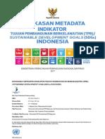 Buku Ringkasan Metadata Indikator TPB