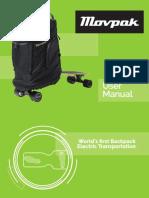 Manual Movpak