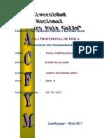 Ejercicios de Programacion Campos Bocanegra Arnold