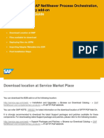 Installation Guide SAP NetWeaver Process Orchestration%2c Secure Connectivity Add-On (SFTP PGP Add-On)