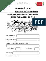 2 Secundaria Evaluacion Matematica