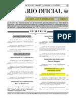De Decreto 86 Do 78 Tomo 395 30042012 Reglamento de Gestion de La Prevencion de Riesgos en Los Lugares de Trabajo