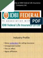 SIP Project Internship IDBI