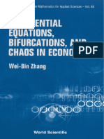 Diferential Ecuations, Bifurcations and Chaos in Economics / Wel-bin Zhang