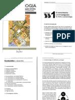 Lectura 1. El Conocimiento y La Investigación. Su Trama y Epistemología (Fontaines Ruiz, T., 2012)