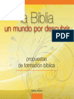 La Biblia, Un Mundo Por Descubrir