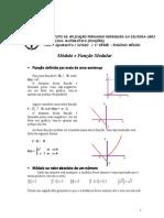 equações e funções modulares