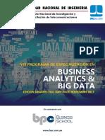 Brochure VIII PDE BA&BD 2017 (Edición Sábados Full Day)