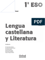 Libro Del Profesor de Lengua Oxford