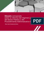 Glosario Comparado Régimen Jurídico DIG