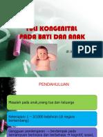 Tuli Kongenital Pada Bayi Dan Anak