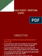 Curs-hemoragia Post- Partum (Hpp)