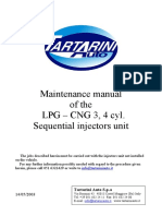 ENG - Injectors Rail Maintenance Guide LPG-CNG 3 , 4 Cyl (May03) (1)