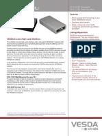 20691 01 VESDA HLI Access Protocol VHX-0320 A4 TDS Lores