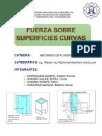 Fuerza Sobre Superficies Curvas MEC-FLUIDOS