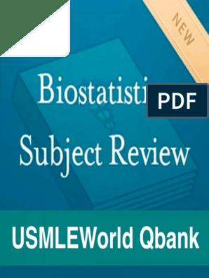 USMLEWorld-Biostatistics-Subject-Review-Qbank-ttt pdf