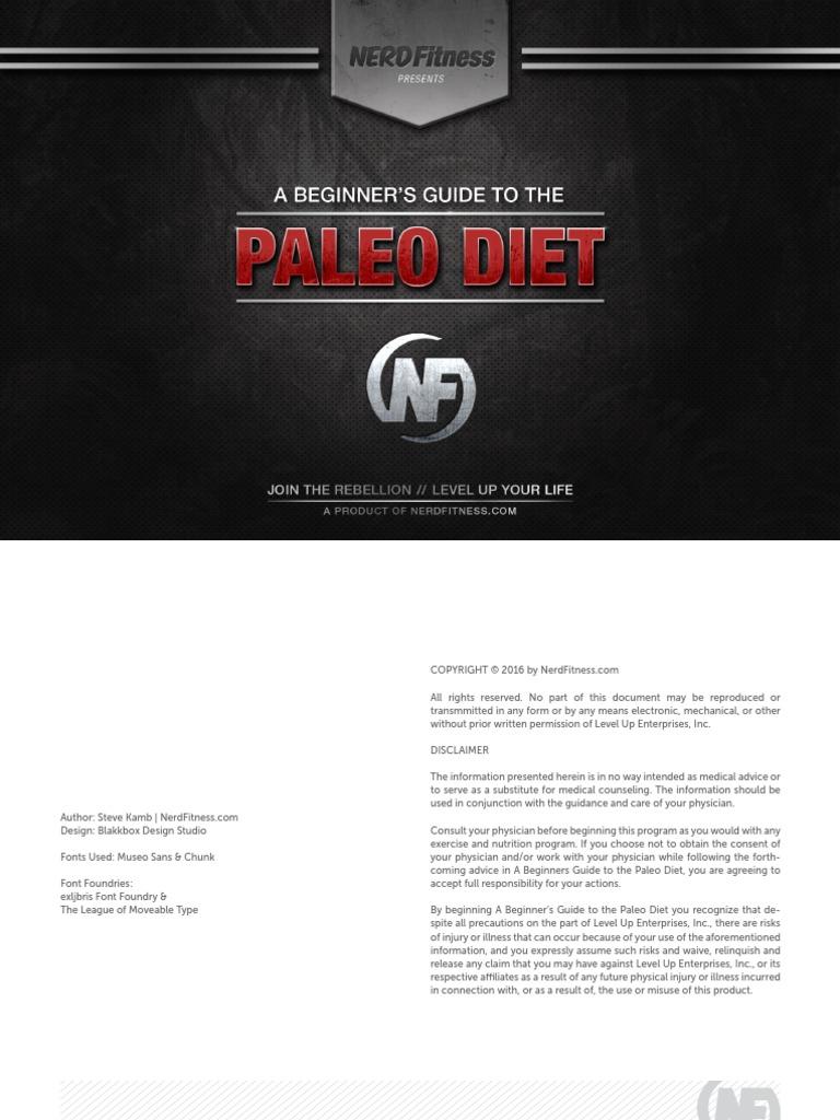 Paleo guide r2 1pdf dieting paleolithic diet malvernweather Images