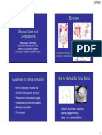 19 Varma Stoma Scare and Complications