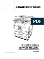 Manual de Servicio RICOH B121