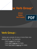 PPT SYNTAX the Verb Group.