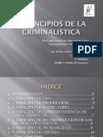 7 Principios de La Criminalística