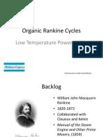 Organic Rankine Cycles (Henrik Xhman)
