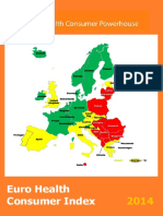 Euro Health Consumer Index EHCI 2014 Report