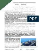 Infrastructures Maritimes Chapitre 1 Généralités V1.0