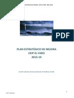 SF5_CEIP_El Faro_Plan de Mejora Estrategico 2015-2019