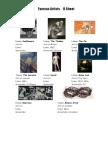 31773 Famous Artists for Passive Voice Sentence Construction