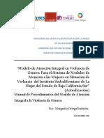 Modelo de Atencion Integral de atención a víctimas de violencia