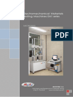 Electromechanical Materials Testing Machines EM1 MICROTEST