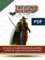 Guía Del Juego Organizado 2015