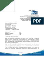 Ficha Tecnica Bell Gel