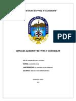 Tarea 2 Proceso Administrativo - Gino Lee Echevarria Martinez