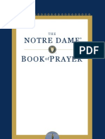 Notre Dame Book of Prayer - excerpt